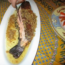 Pan Fried Trout with Pecan Butter Sauce