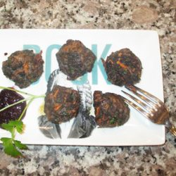 Go Wild! Jazz up meatballs with blueberry dipping sauce