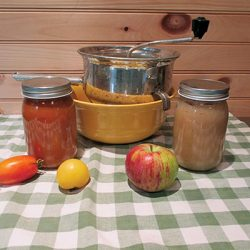 Foley Food Mill:  The art of making sauce